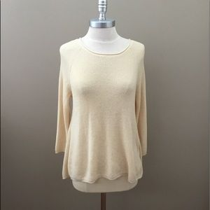 Olivia Sky Cream Sweater